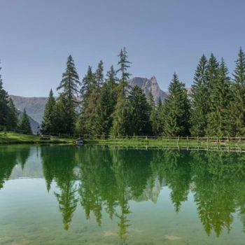 Il laghetto di Marinzen presso Castelrotto