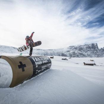 Snowpark auf der Seiser Alm